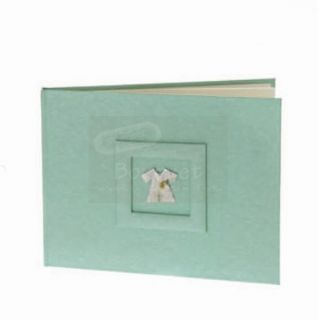 Baptism guest book baby clothes / Βιβλίο ευχών βάπτισης ρουχάκι